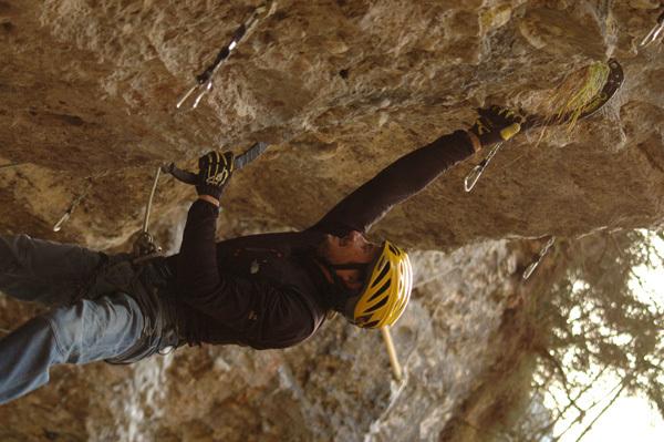 Mario Prinoth alla Grotta del Lupo, Gianmario Meneghin