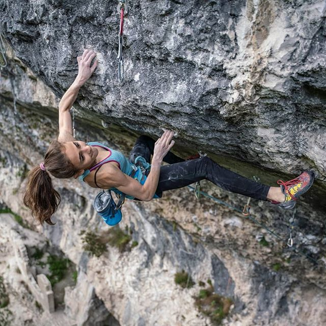 Laura Rogora at Massone in Arco, Italy, has repeated Pure Dreaming Plus, a 9a+ sports climb first ascended by Adam Ondra. The Roman climber is now the first Italian woman, and only the fifth woman in the world after Margo Hayes (02/2017), Anak Verhoeven (09/2017), Angela Eiter (10/2017) and Julia Chanourdie (03/2020). Stefano Ghisolfi