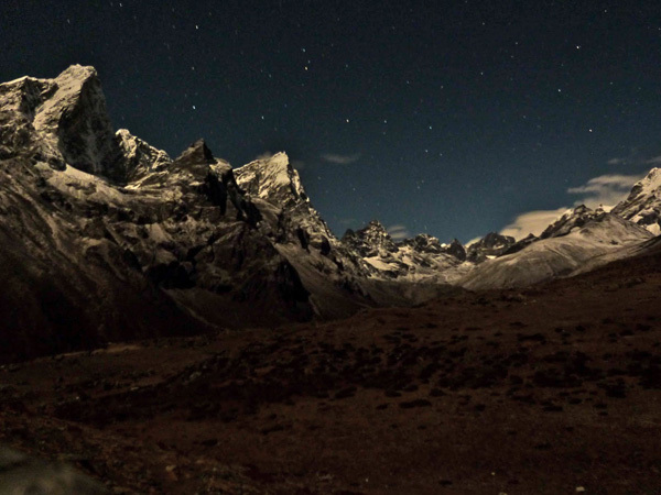 Tawoche, Cholatse and Lobuche, Nepal., Joel Kauffman