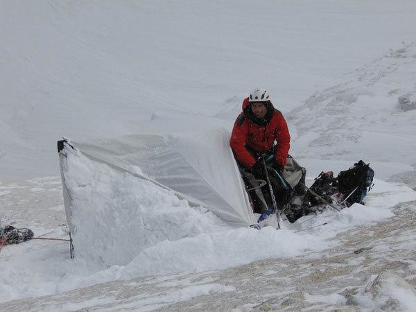 Arwa Tower - ghiaccio e neve!, Stephan Siegrist