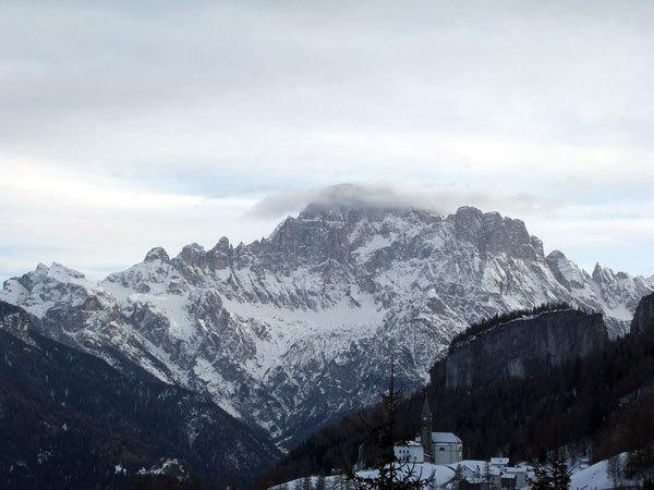 La vista sul Civetta, arch. Beppe Ballico