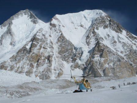 Il Gasherbrum II, arch. S. Moro, D. Urubko