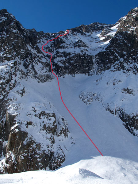 Petit Mont Blanc, ENE Face, Davide Capozzi