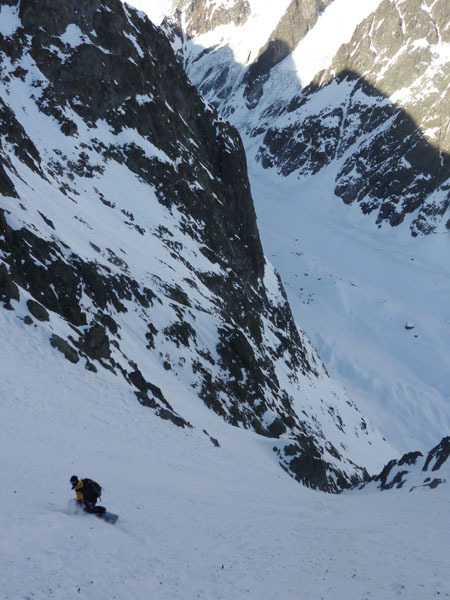 Petit Mont Blanc parete ENE, Davide Capozzi