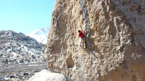 Enzo Oddo ripete Ambrosia V11, Buttermilks, Bishop, USA., PranaCollective