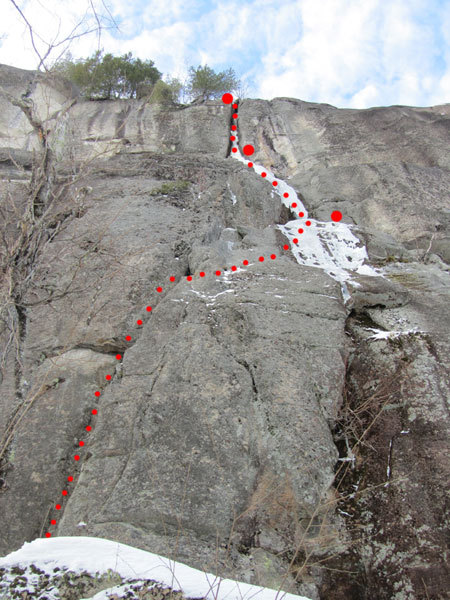 Remission, Cathedral ledge, North Conway, New Hampshire USA, arch. Canada Team