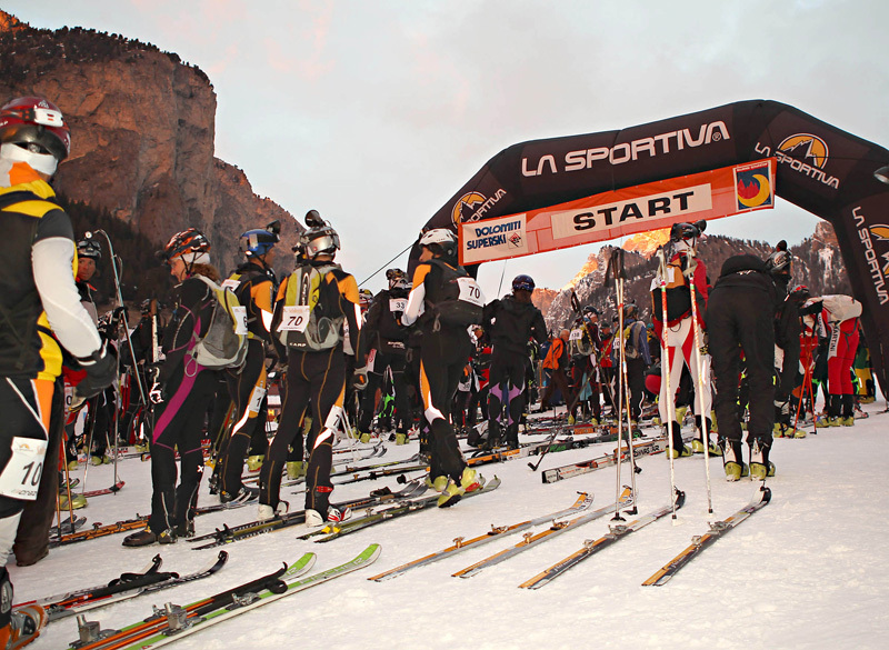 The start at Selva Val Gardena, NewsPower