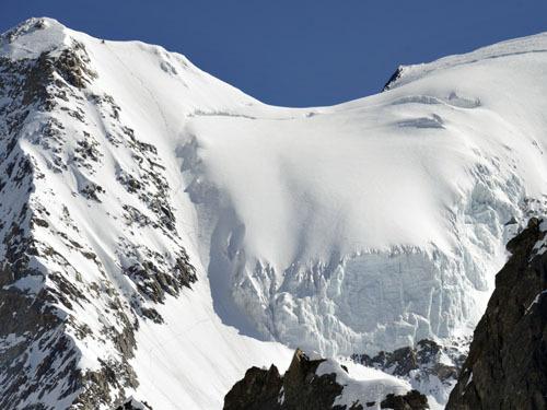 Grandes Jorasses - Face Sud, archivio Davide Capozzi