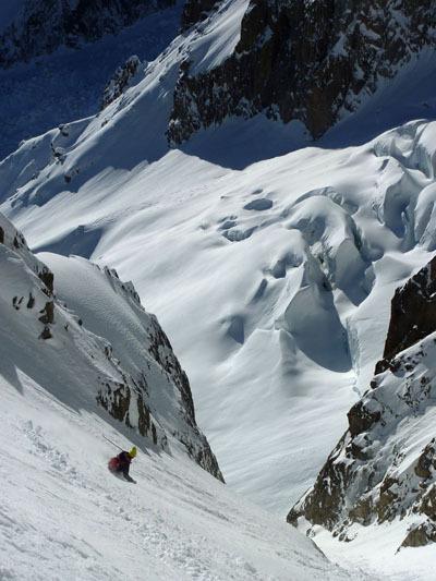 Tour Ronde - Cresta Est - Couloir Cache', archivio Davide Capozzi