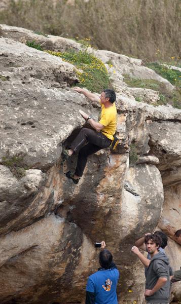 1st Malta Bouldering Competition, Ronald Balzan