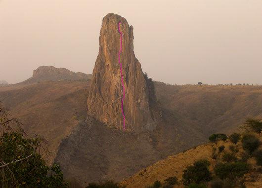 Malaria, Rhumsiki Tower, Cameroon, arch. M. Faletti