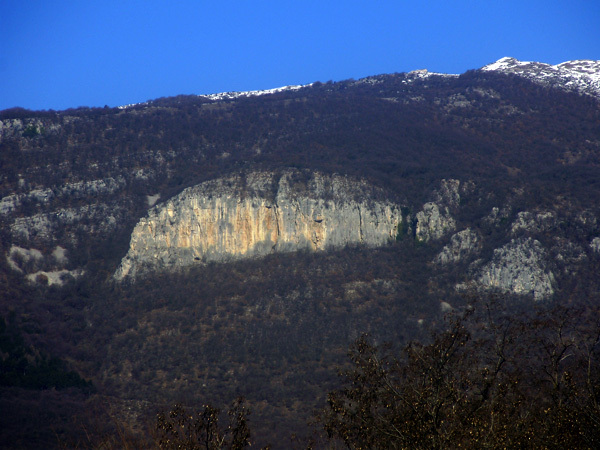 La bella falesia di Sengio Rosso, Monte Baldo, Cristiano Pastorell