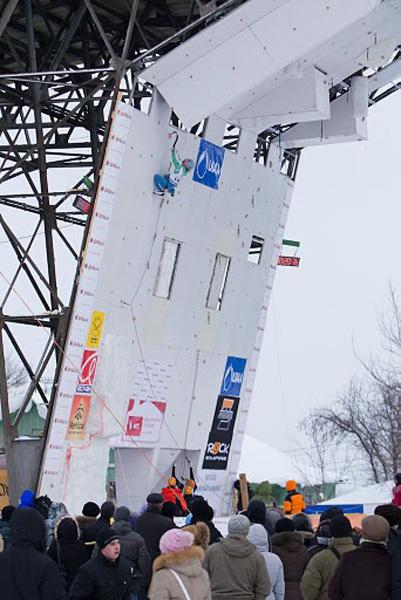 Ice Climbing World Cup 2011 Kirov, Rozle Bregar