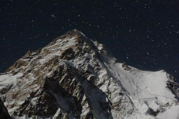 The west face of K2 (8611m), Victor Kozlov