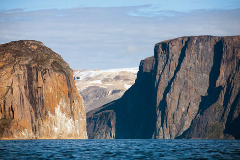 Devil's Brew, Cap Farewell, Greenland by Sean Villanueva, Nicolas and Olivier Favresse (Belgium) and Ben Ditto (USA), arch. Villanueva, Favresse, Ditto