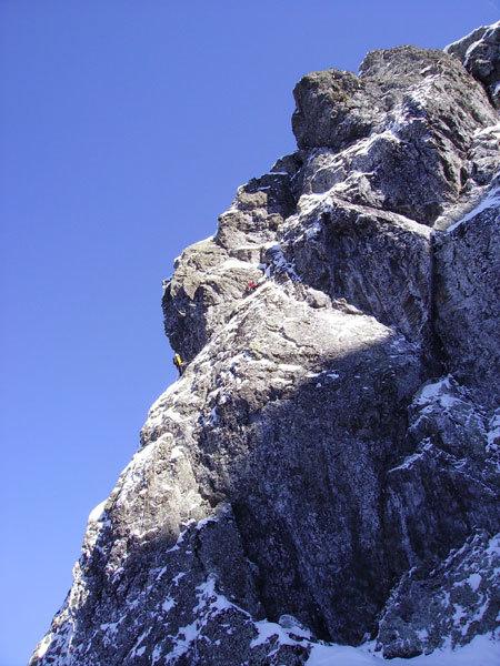 Sul terzo tiro di Superpsyco, Monte Pennino, Davide Chiesa