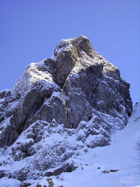 Superpsyco, Monte Pennino, Davide Chiesa