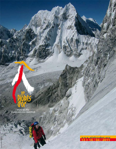 From 13 - 16 April 2011 Courmayeur and Chamonix (Mont Blanc) will host the IXX Piolet d'Or, the oscar for alpinism., Planetmountain.com
