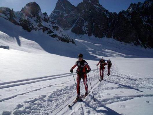 02/04/2011: Jean-François Premat, Alain Premat e Sébastien Baud stabiliscono il nuovo record della Chamonix - Zermatt in 18:50:29, arch. Premat & Baud