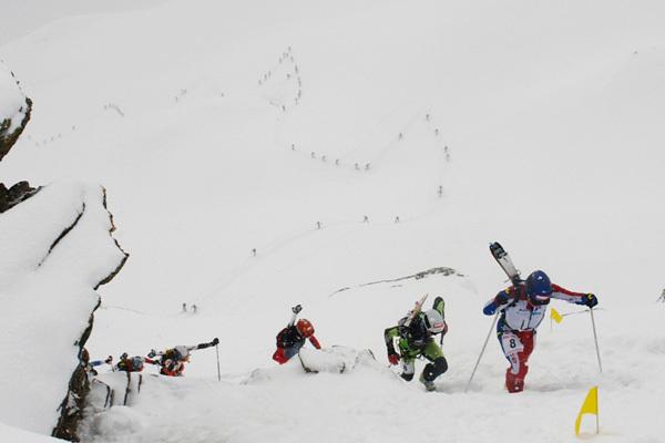Sabato 9 e domenica 10 aprile 2011 il Tour du Rutor tra Arvier e Valgrisenche (Valle d'Aosta)., Lorenzo Scandroglio