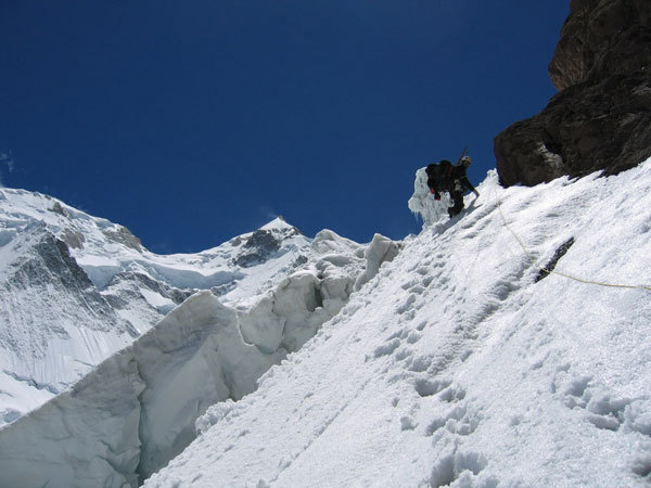 One of the best Himalyan ascents this season, and also a milestone in Himalayan mountaineering., Courtesy Montagna.tv