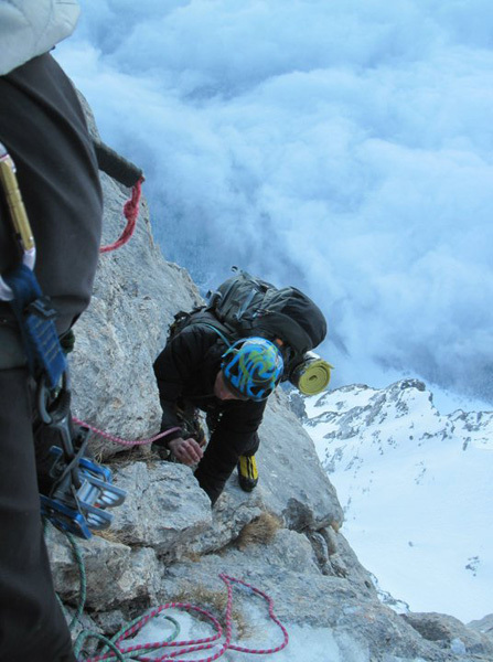Fulmini e Saette, first winter ascent on Gran Sasso, archivio Lorenzo Angelozzi