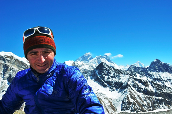 The Swissman Ueli Steck in the Himalaya, arch. Ueli Steck