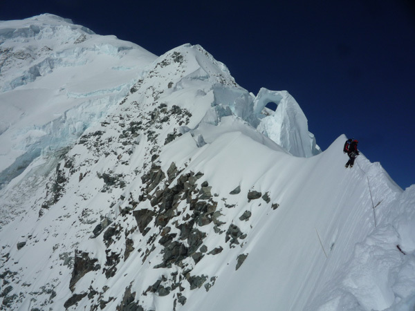 Mount Logan South East Face, arch Piolet d'Or