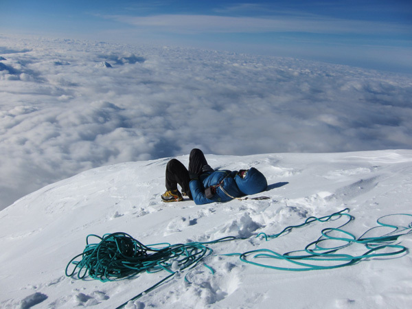 Mount Foraker (5304m), Alaska, arch Piolet d'Or