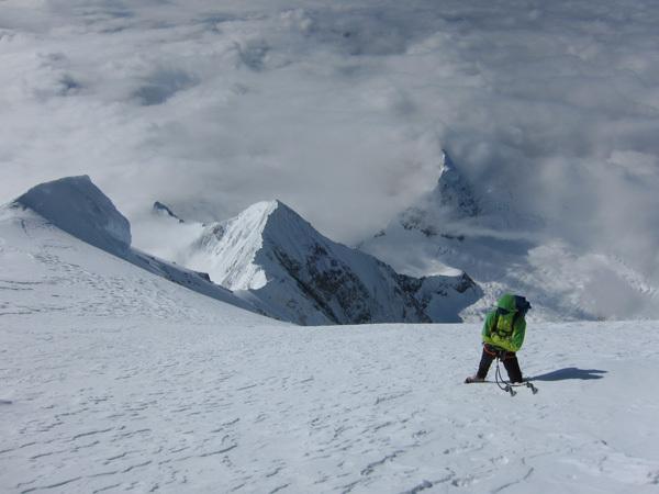 Mont Foraker (5304m), Alaska, arch Piolet d'Or
