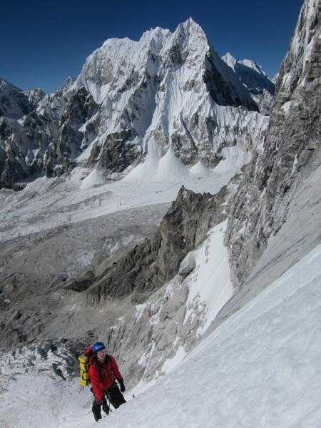 Mount Lunag, arch Piolet d'Or