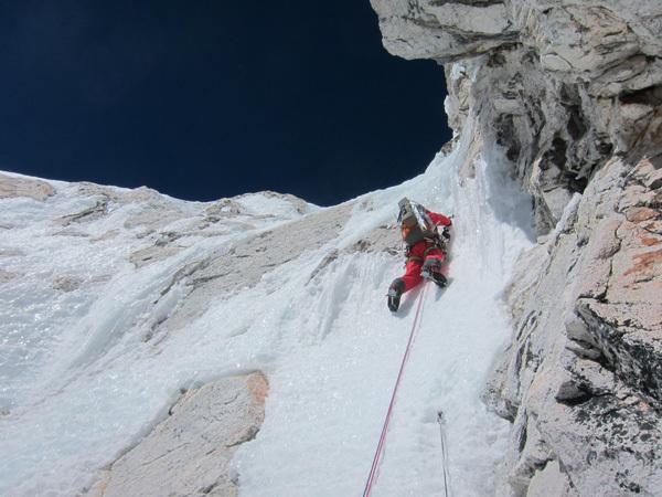 Monte Lunag, arch Piolet d'Or