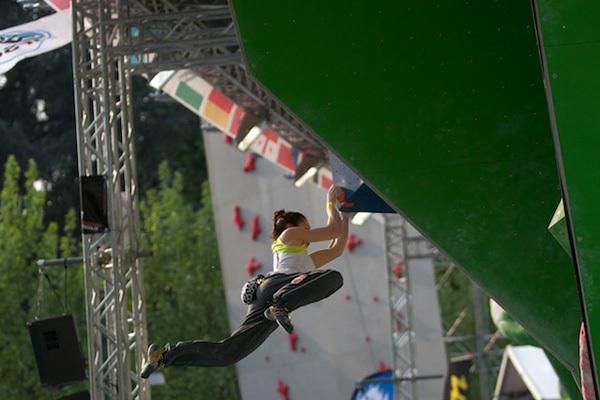 La prima prova della Coppa del Mondo Boulder 2011 a Milano, Diego Neonati