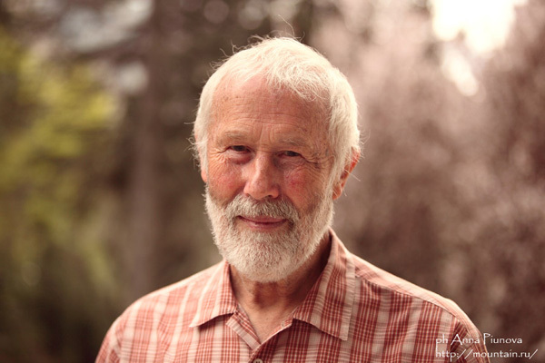 Sir Chris Bonington, Anna Piunova