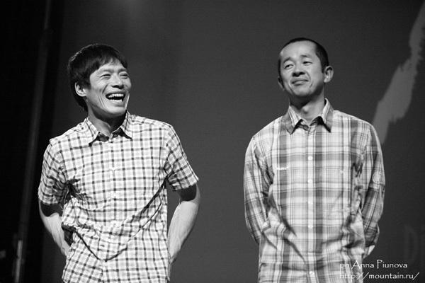 Katsutaka Yokoyama and Yasushi Okada, Anna Piunova