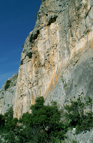 The crag Anarva, Magnesia, Greece, Christos Boukoros
