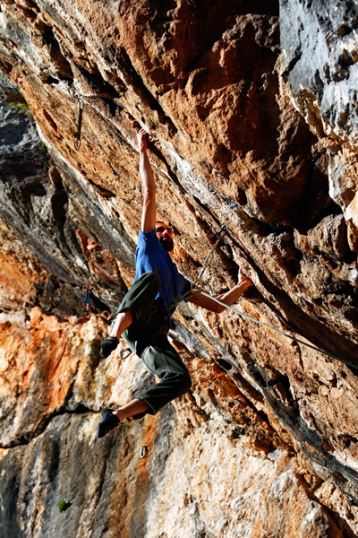 Spiros Bekiris, Use your illusion 8a+, Kofi, Magnesia, Greece, Christos Boukoros