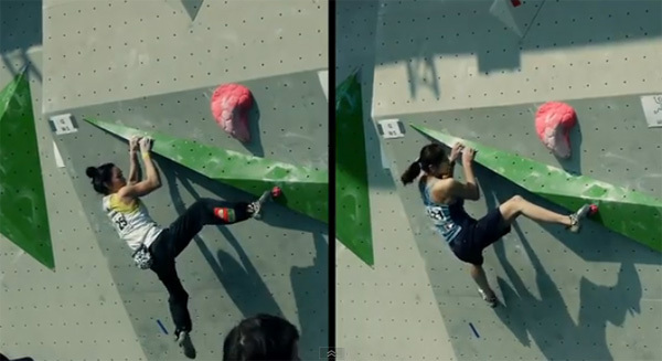 A video of the first stage of the Bouldering World Cup 2011 in Milan, Planetmountain.com