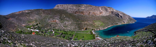 Palionisos bay on the Greek island of Kalymnos, Nikolaos Smalios
