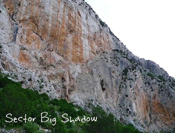 Settore Big Shadow, climbkalymnos