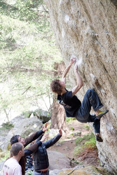Adam Ondra - Melloblocco 2011,  Klaus Dell'Orto