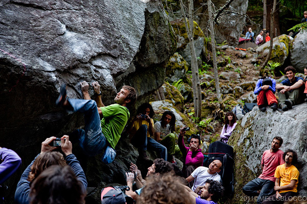 Chris Sharma - Melloblocco 2011, Claudio Piscina
