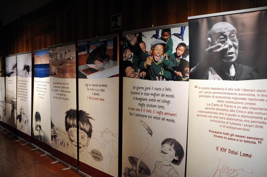 Tibet exhibition, Dino Panato / TrentoFilmfestival 2011
