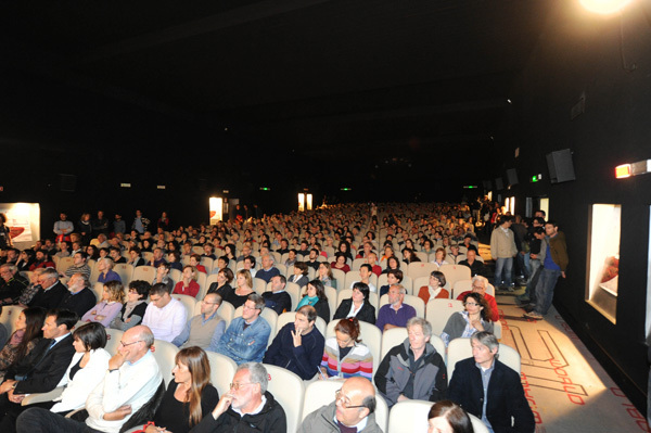 The spectators at the TrentoFilmfestival 2011, Dino Panato / TrentoFilmfestival 2011