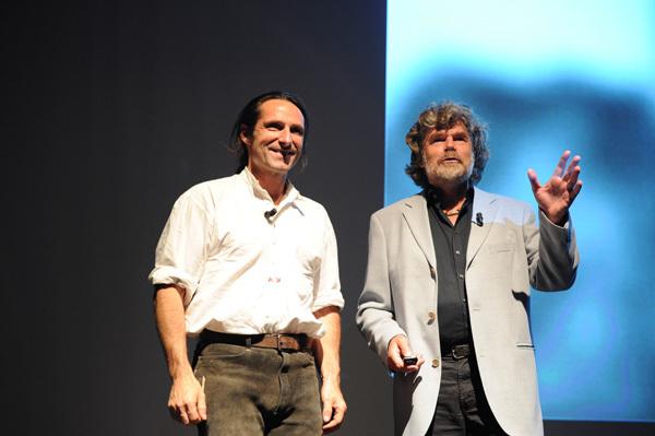 Alexander Huber & Reinhold Messner, Dino Panato / TrentoFilmfestival 2011