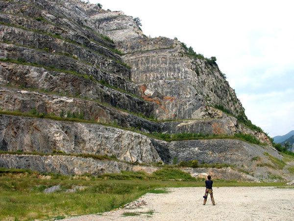 L'ex cava Martinetto di Tirano (Savona), arch. Mario Nebiolo