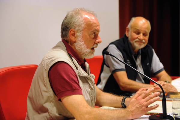 Roberto Mantovani & Kurt Diemberger, Dino Panato / TrentoFilmfestival 2011
