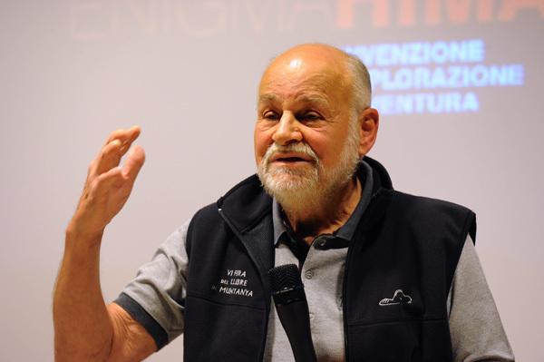 Kurt Diemberger, Dino Panato / TrentoFilmfestival 2011