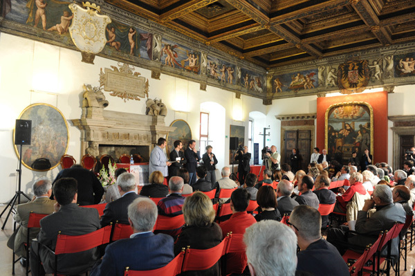 The proclamation of the winners of the 59th TrentoFilmfestival 2011, Dino Panato / TrentoFilmfestival 2011