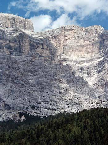 La parete sud-ovest del Pelmo, arch. Roverato, Matteraglia